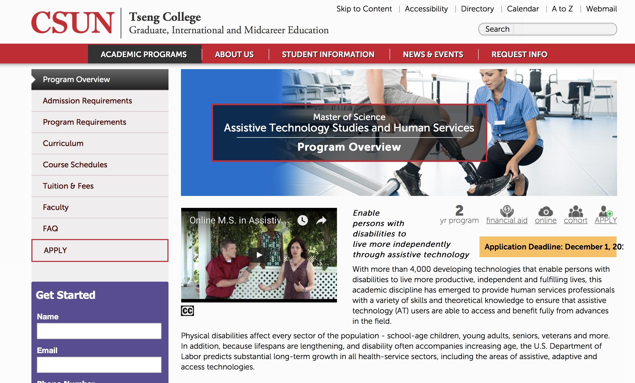 Ataem College And University At Programs