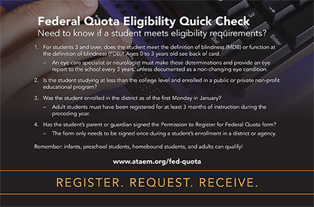 Federal Quota Eligibility Quick Check