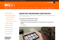 BGSU AT Certification - small
