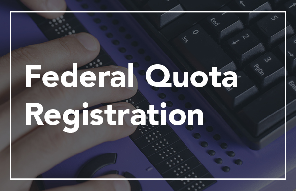 Federal Quota Registration